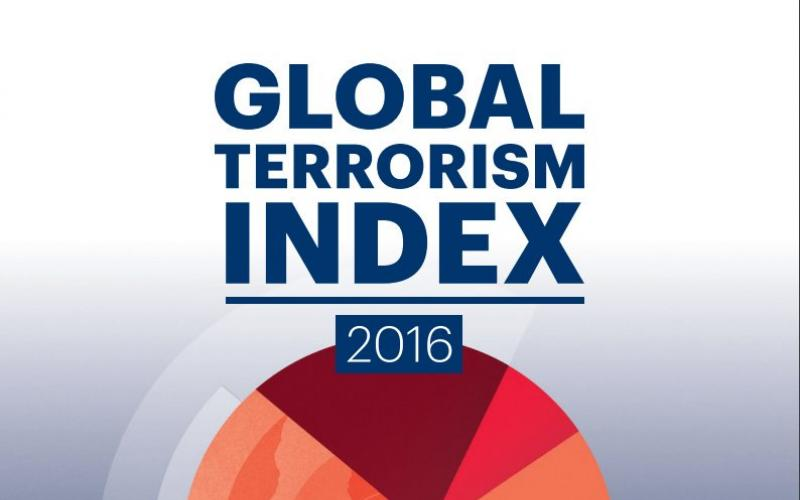 Cover page of Global Terrorism Index 2016